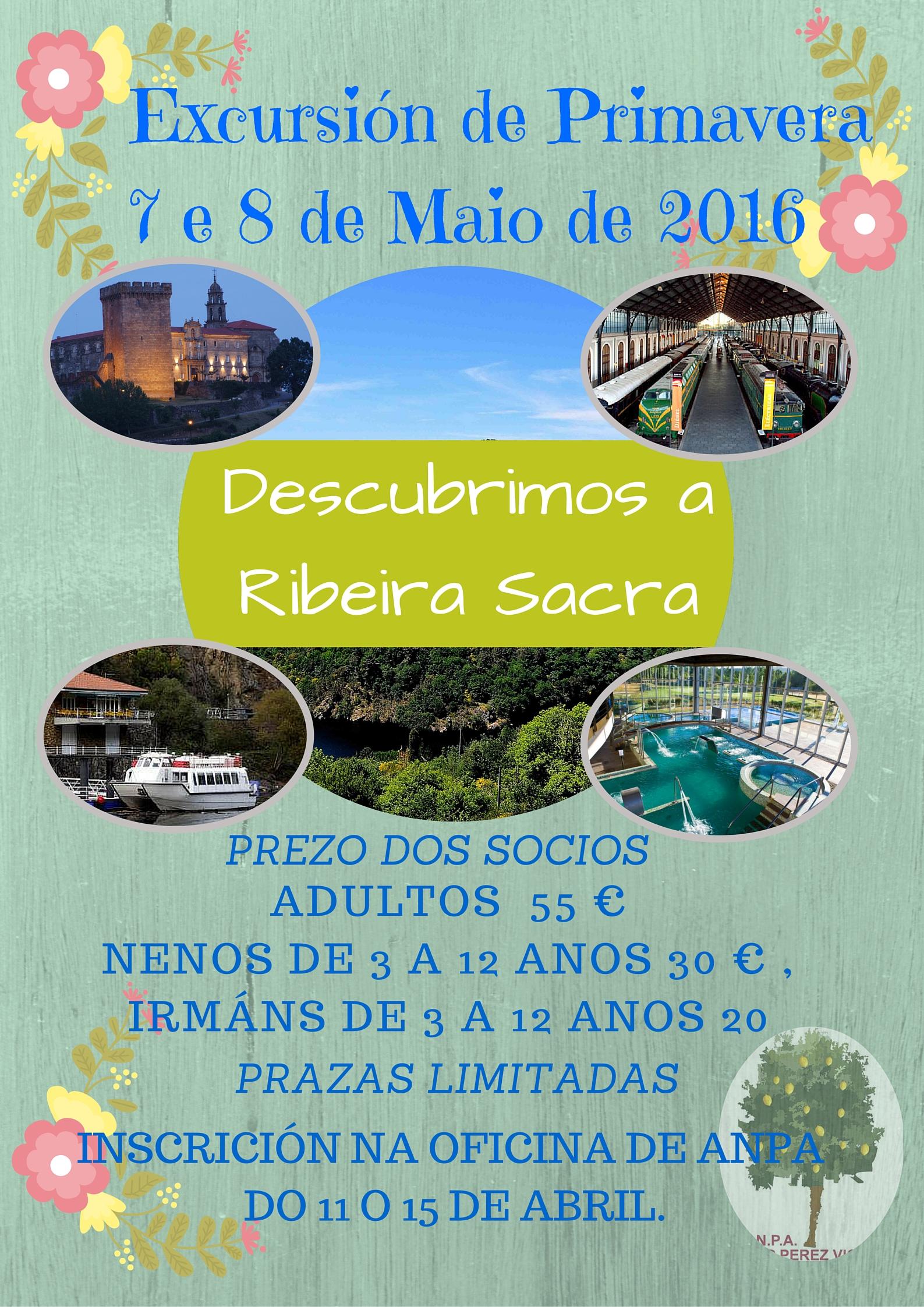 Excursión de Primavera7 e 8 de Maio de 2016 (1)